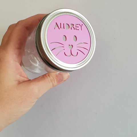 Personalised Easter Jar - Little Birdy Finds