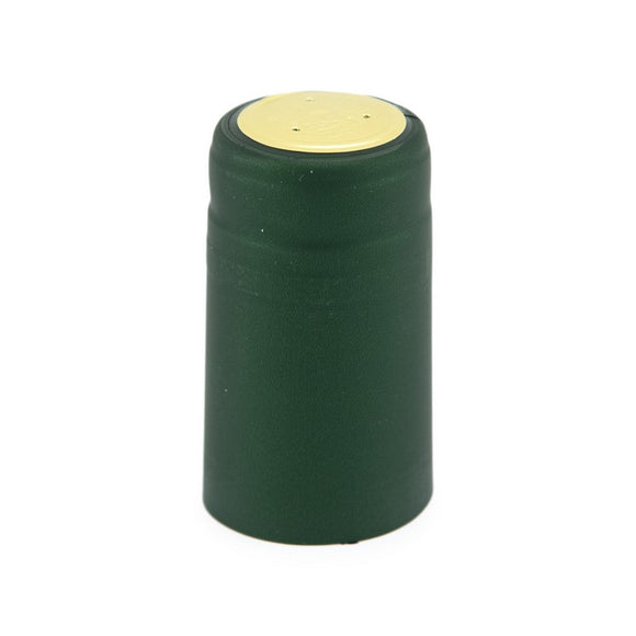 Shrink Cap - Solid Green - Matte