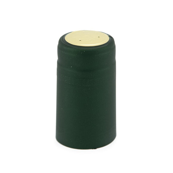 Shrink Cap - Solid Green - Metallic