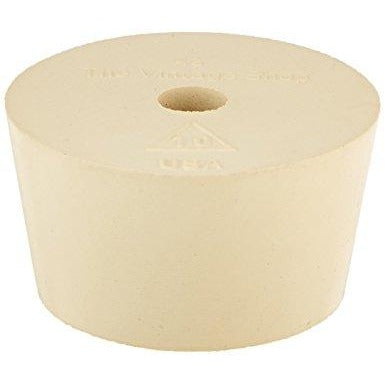 Rubber Stopper - #8.5 Drilled (10-34lt)