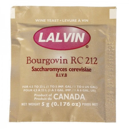 Wine Yeast - Lalvin RC212