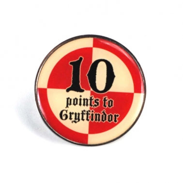 10 Points to Gryffindor Pin Badge