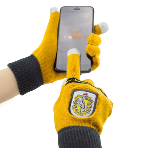 Hufflepuff Children's Tech gloves