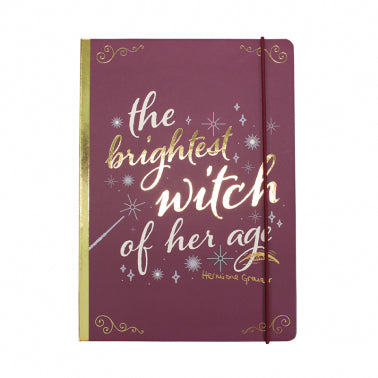 Hermione Brightest witch multi list notepad with pencil