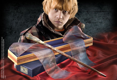 Ron Weasley's Wand in an Ollivanders box