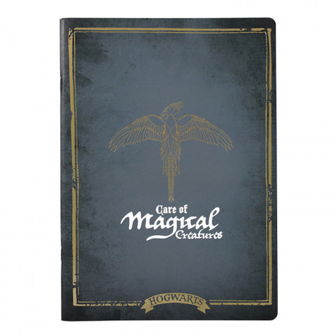Care of Magical creatures class exercise book
