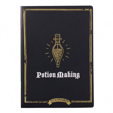 Potion Making class exercise book