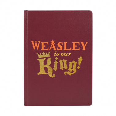 Weasley is our king A5 notebook