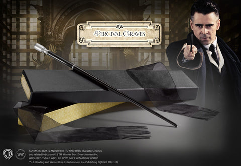 Percival Graves Wand in Collectors Box