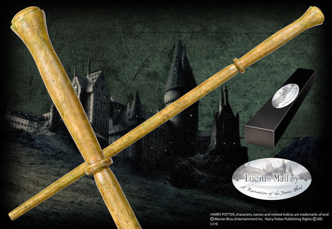 Lucius Malfoy's character wand