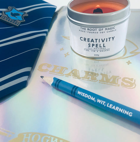 Creativity Spell - Hand poured Soy Candle, Made In Scotland