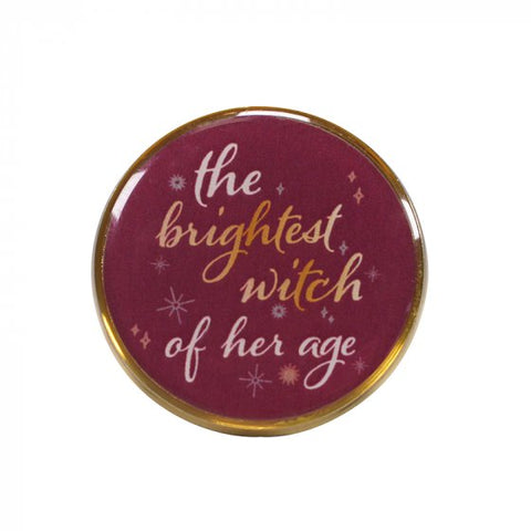 Brightest witch pin