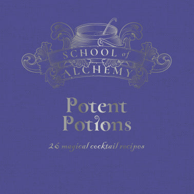 Potent Potions cocktail  book