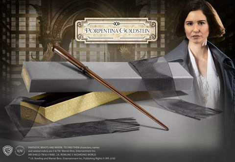 Porpentina Goldsteins Wand in Collectors box
