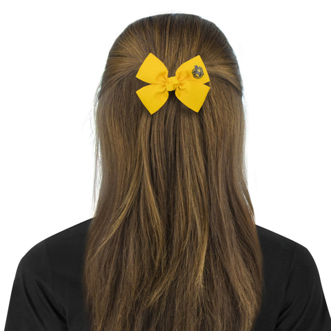 Hufflepuff  hair bobble bow
