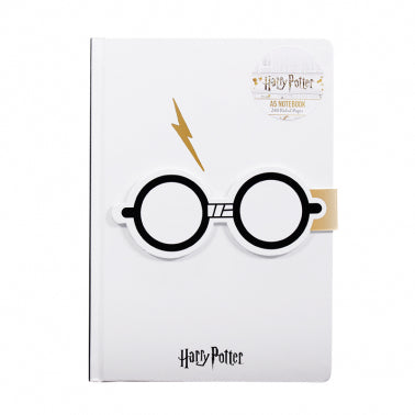 Harry Potter glasses notebook