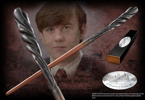 Neville Longbottom's character wand