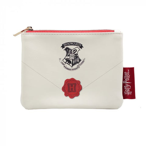 Hogwarts letter coin purse