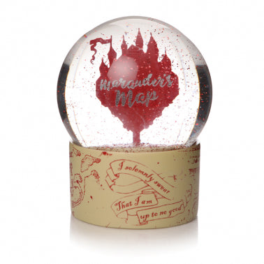 Marauders Map Snow Globe
