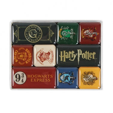 Harry Potter Magnet Set of 9