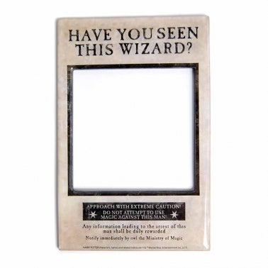 Have you seen this Wizard Photo Frame Magnet
