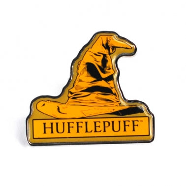 Hufflepuff Sorting Hat Pin Badge