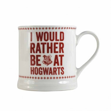 I Would Rather Be At Hogwarts Vintage Mug