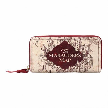 Marauder's Map Large Purse