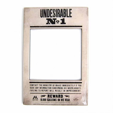 Undesirable No 1 Photo frame Magnet