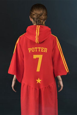 Harry Potter Personalized Gryffindor Quidditch Robe( Capes & Robes Harry Potter)