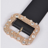 Diamond Buckle Belt