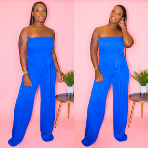 LADY AMORE JUMPSUIT (Royal)