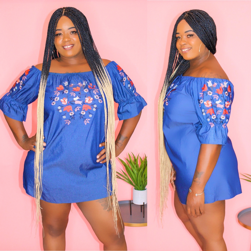 KARLA DENIM DRESS