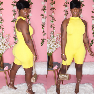 Toni Romper (Yellow)