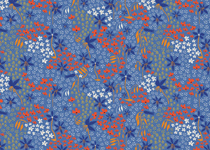 Taking Flight ~ Australian Floral Fabric