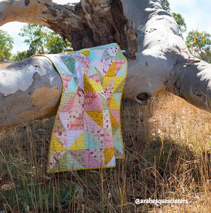 A Fat Quarter Bundle of Bush Gum Blossoms ~ 10 Prints