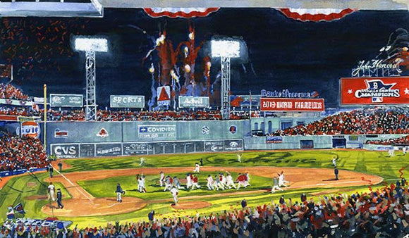 2013 World Series: Celebration