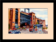Waitkus Original: St. Louis Cardinals - Busch Stadium