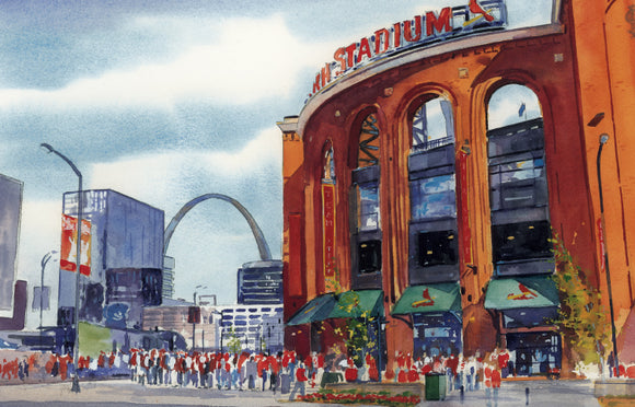 St. Louis Cardinals: The Crowd Gathers