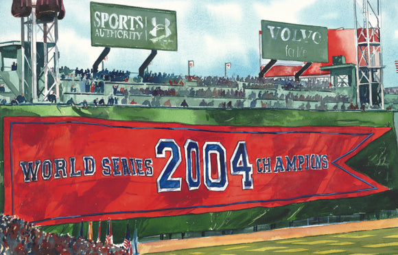 2004 World Series: Raising the Banner