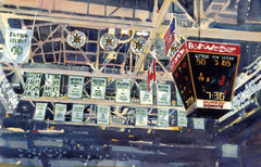 Old Boston Garden - The Banners