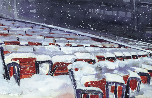Fenway Winter Blues