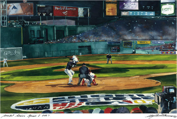 2007 World Series - First Pitch
