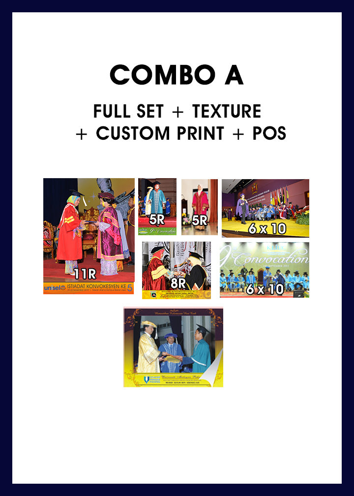 COMBO A (POSTAGE INCLUDED)