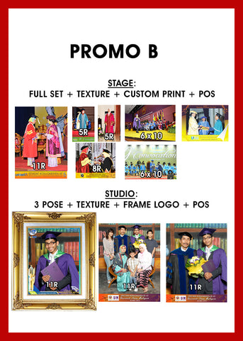 PROMO B (POSTAGE INCLUDED)