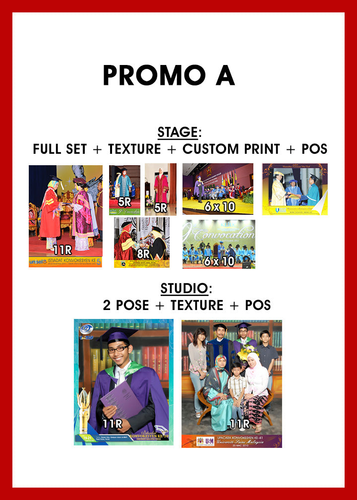 PROMO A (POSTAGE INCLUDED)