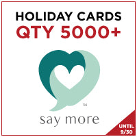 ZZZ Holiday Cards - QTY 5000+