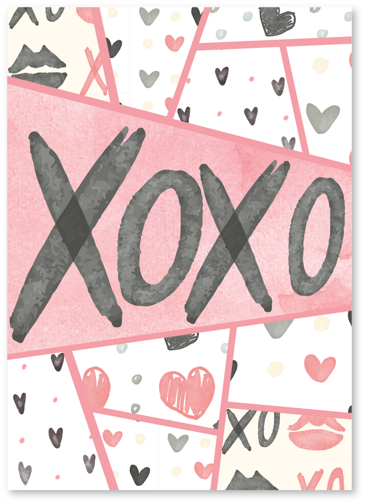 XOXO Valentine's Day Card