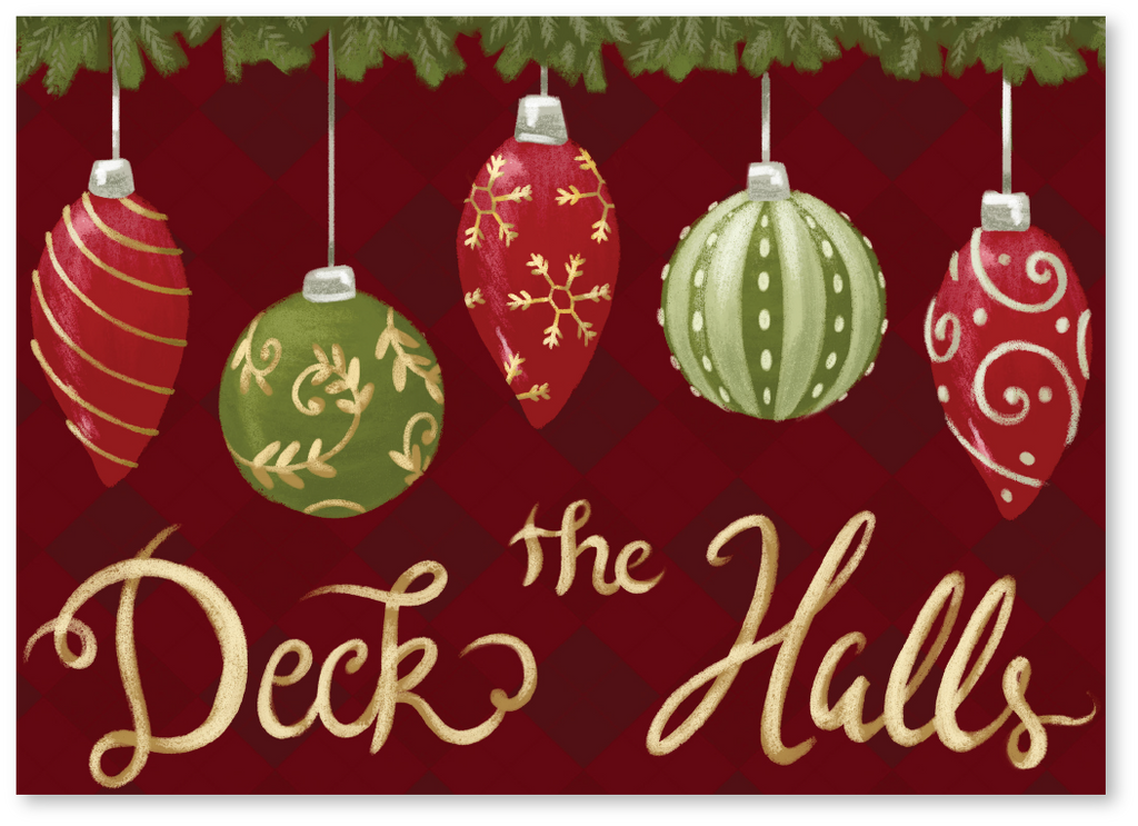 Deck The Halls Christmas Card - Order Christmas Cards Online | Say ...