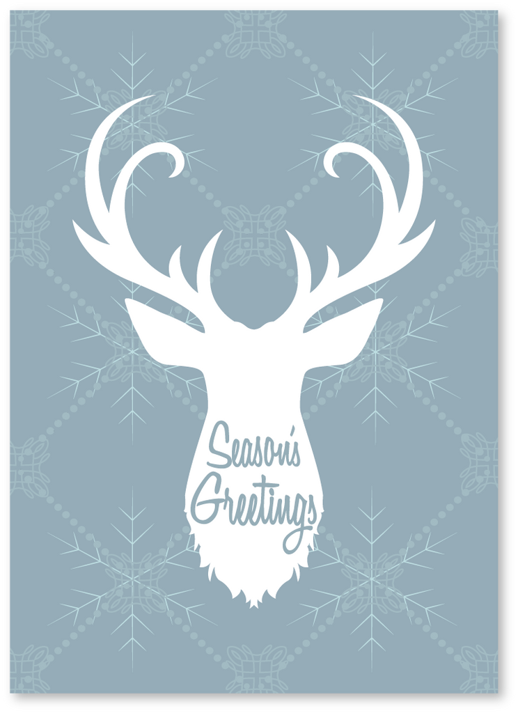 Holiday Cards Online >> Reindeer Season S Greetings Card Check Out Our Holiday